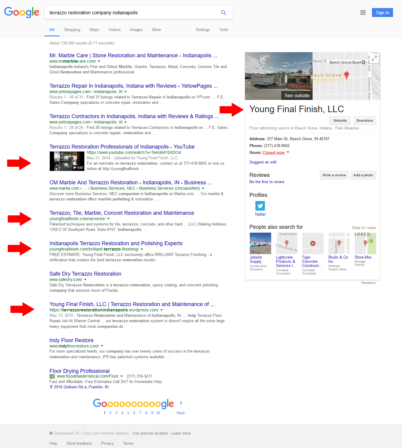 yff-search-engine-optimization-results